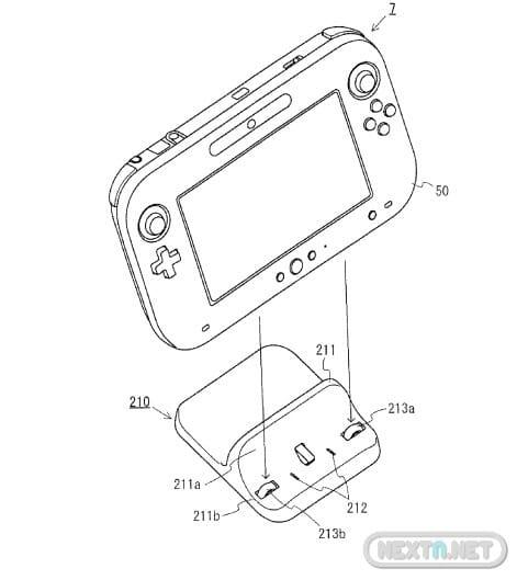 Base de carga de Wii U