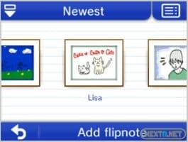 130607 Flipnote Studio 3D Gallery Amigos