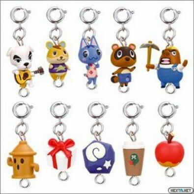 1307-15 Animal Crossing New Leaf Llaveros1