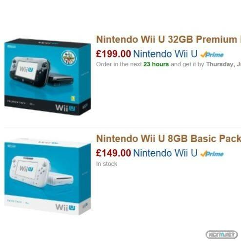 1307-16 Wii U Amazon Reino Unido