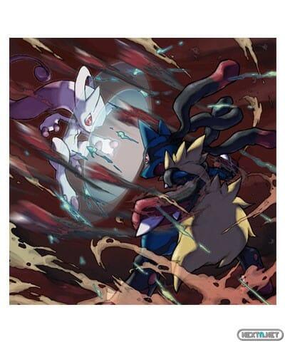 1308-09 Pokémon X-Y Mega-Mewtwo Vs Mega-Lucario