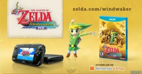 1308-24 Wii U Premium Pack Zelda Wind Waker HD