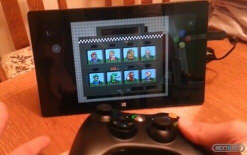 1310-03 Surface y emulador Super Nintendo