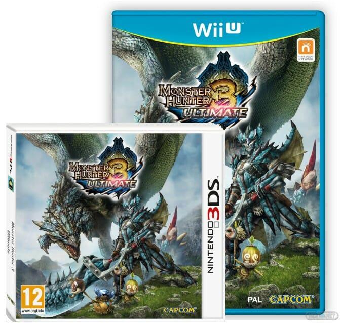 Monster Hunter 3 Ultimate Wii U + 3DS