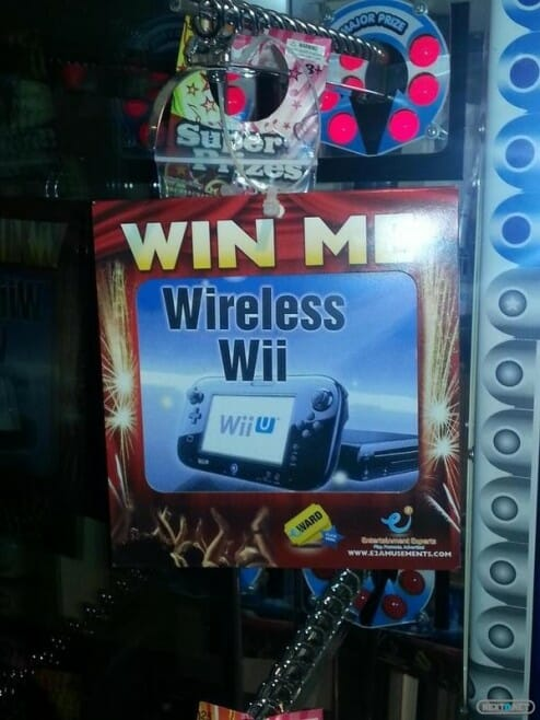 1310-13 Wii U - Wii Wireless Staker Machines