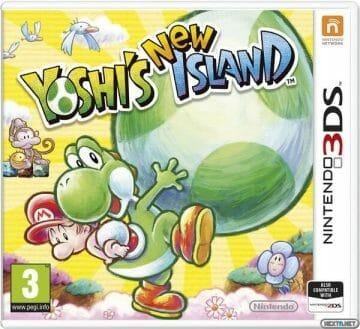 1401-23 Yoshi's New Island 3DS Boxart 1
