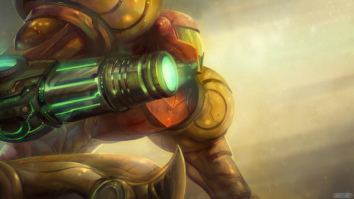 Metroid Prime Samus Aran