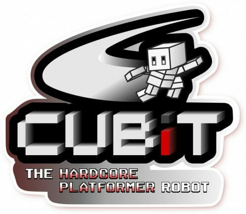 1403-15 Cubit The Hardcore Platformer Robot 3DS 2