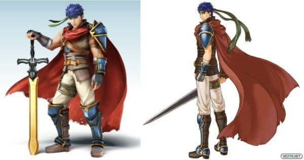 Ike Smash Bros. for 3DS/Wii U Vs. Radiant Dawn