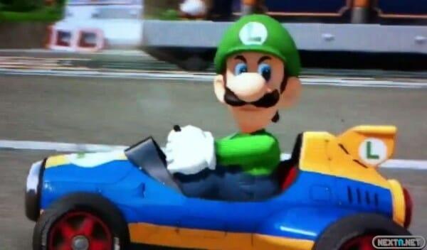 1406-04 Luigi Mirada Muerte Mario Kart 8 Wii U 1