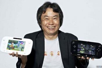 Shigeru Miyamoto Wii U GamePad
