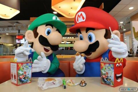 1407-12 Mario Luigi McDonalds Mario Kart 8 2