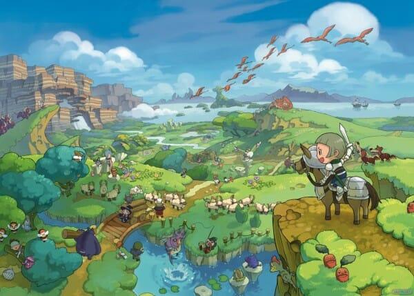 1407-24 Fantasy Life 3DS