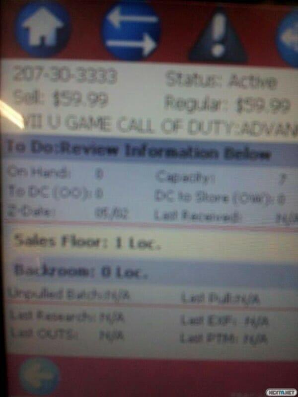 1411-05 Call of Duty Advanced Warfare Target Rumor Wii U 1