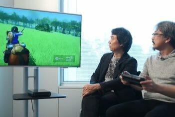 Zelda Breath of the Wild Wii U Miyamoto Aonuma