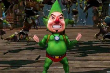 Tingle Hyrule Warriors creador de Tingle