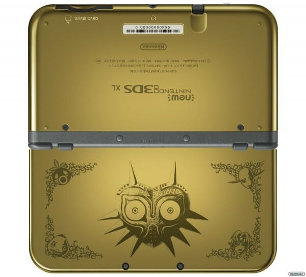 1501-29 New 3DS XL Majora's Mask