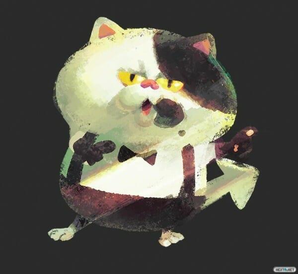1502-09 Splatoon gato Juez