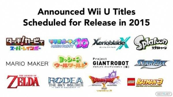 1502-17 Títulos de Nintendo por llegar a Wii U - Japón