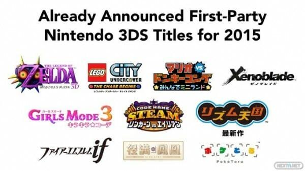 1502-17 Títulos que llegarán a 3DS