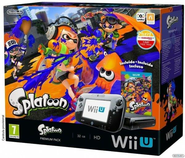 1504-27 Splatoon Pack Wii U