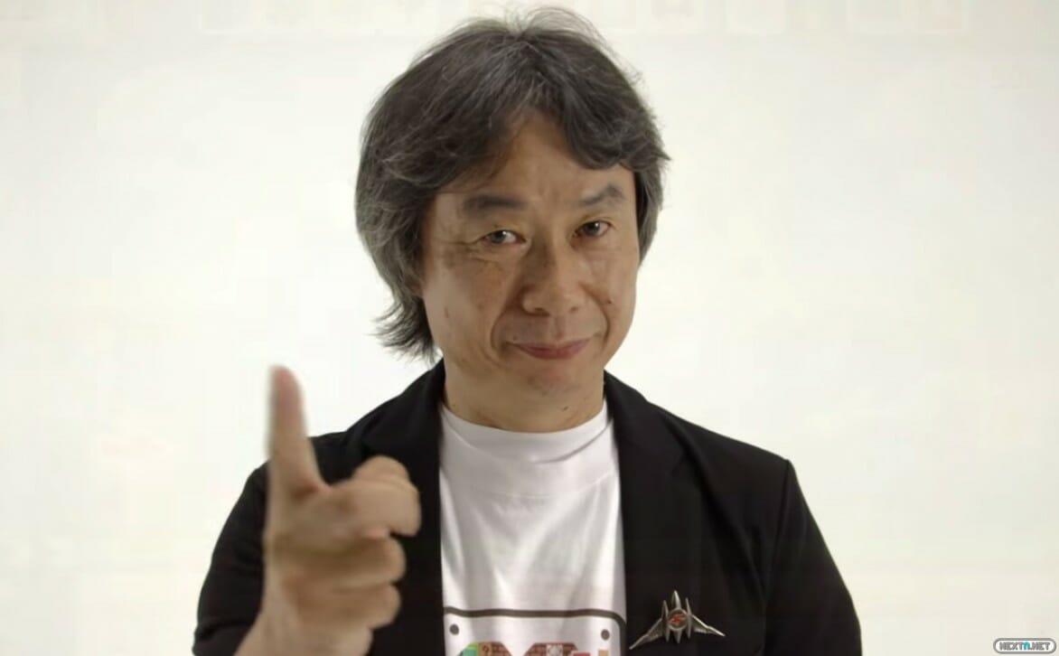 Shigeru Miyamoto pin Star Fox Arwing