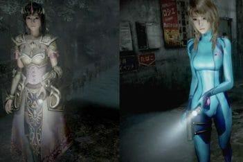 Project Zero: Maiden of the Black Water Zelda y Samus Zero