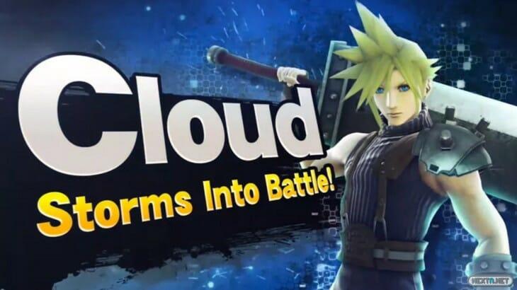 Cloud Super Smash Bros.
