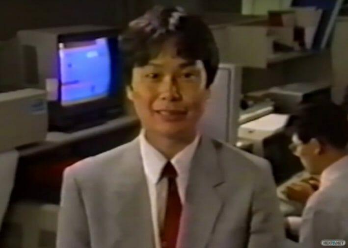 Shigeru Miyamoto en los 80