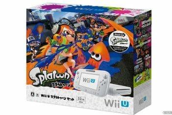 Pack Wii U Splatoon Japón