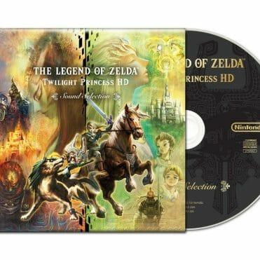 The Legend of Zelda Twilight Princess HD CD Banda sonora OST