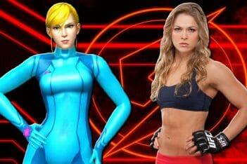 """Ronda Rousey : """"Siempre he querido ser Samus Aran._ La ex-campeona de la UFC se declara fan de Metroid 01"""
