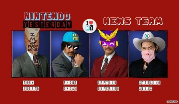 Nintendo Yesterday Equipo