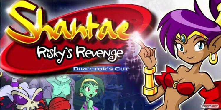 Shantae Risky's Revenge Switch