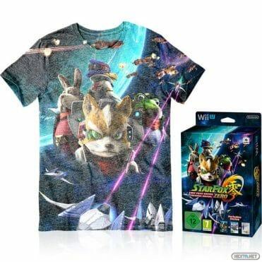 Star Fox Zero camiseta Nintendo UK Store