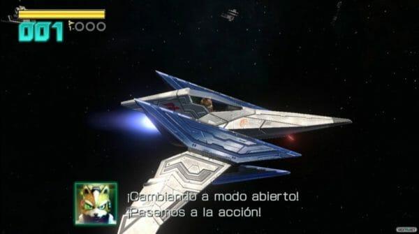 Star Fox Zero modo abierto