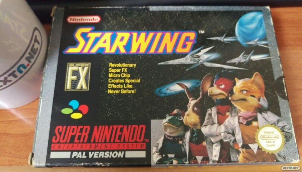 Starwing Star Fox SNES