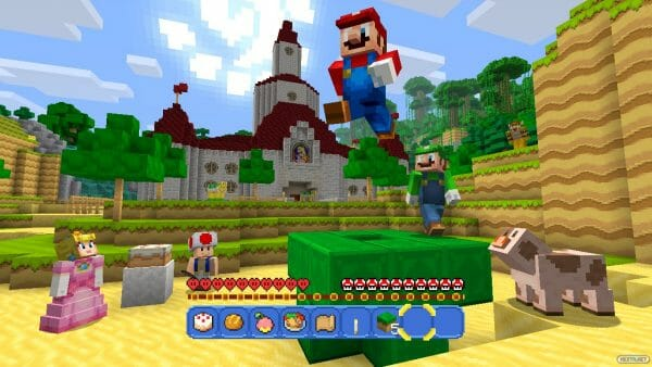 Minecraft Wii U Edition Super Mario Mash-Up