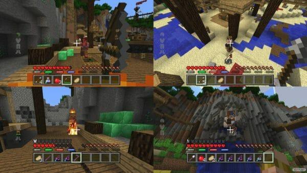 Minecraft Wii U Edition Batalla mapas