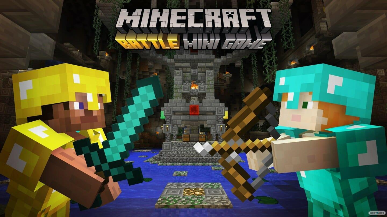 Minecraft Wii U Edition Batalla