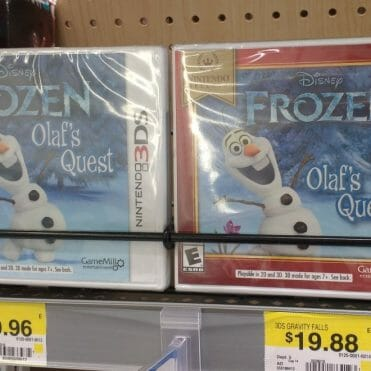 Frozen Olaf's Quest Nintendo Selects