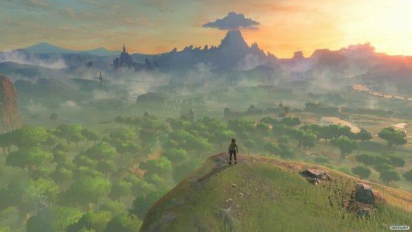 The Legend of Zelda Breath of the Wild Paisajes