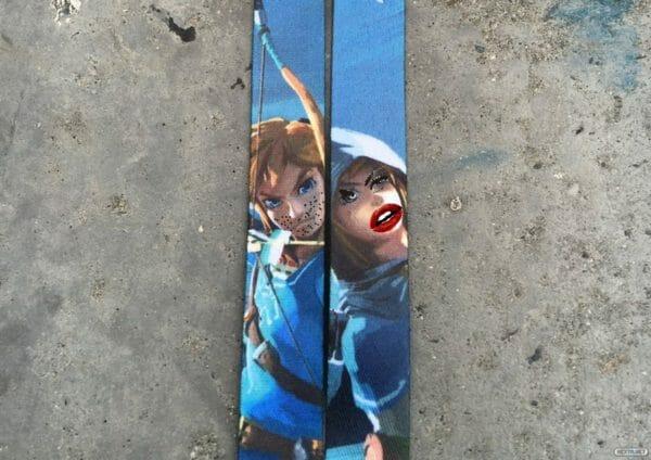 Zelda correas Chico chica E3