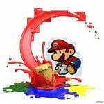 Paper Mario Color Splash artworks
