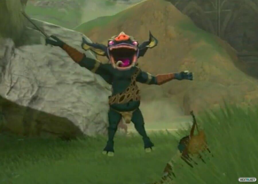 Zelda Breath of the Wild Link muerto