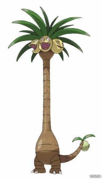 1608-01 Pokémon Sol Luna Alola Exeggutor