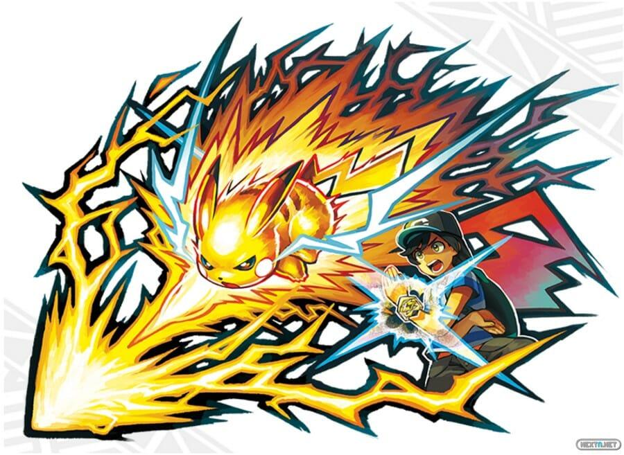 Pokémon Sol Luna Ataque Z pulsera Z 01