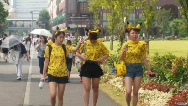 Pikachu Festival Japón