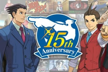 Ace Attorney Gyakuten Saiban 15 aniversario