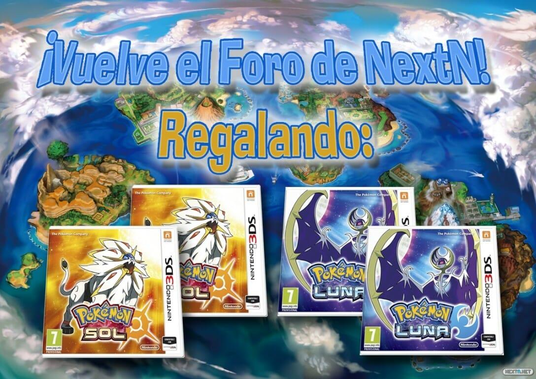 Concurso Vuelve Foro NextN Pokémon Sol Luna